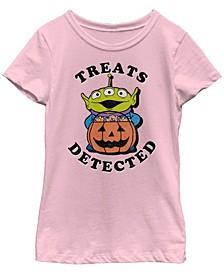 Big Girls Toy Story 1-3 Treats Detected Short Sleeve T-shirt