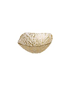 Dessert Bowl with Lined Design