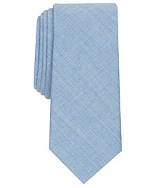 Men's Clarkson Skinny Solid Tie, Created for Macy's