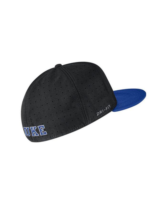 Nike Duke Blue Devils Aerobill True Fitted Baseball Cap & Reviews - Sports Fan Shop By Lids - Men - Macy's