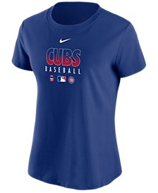 Women's Chicago Cubs MLB Authentic Baseball T-Shirt