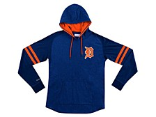 Detroit Tigers Men's Midweight Applique Hoodie