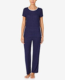 Women's Sweater-Knit Pajama Set, Online Only