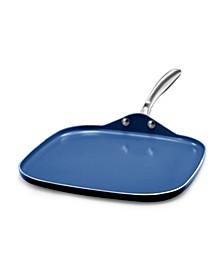 "Aluminium Diamond Infused 10.5"" Griddle Pan"
