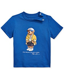 Baby Boys Bear Cotton Jersey T-Shirt