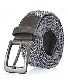 Men's Elastic Braided Stretch Belt