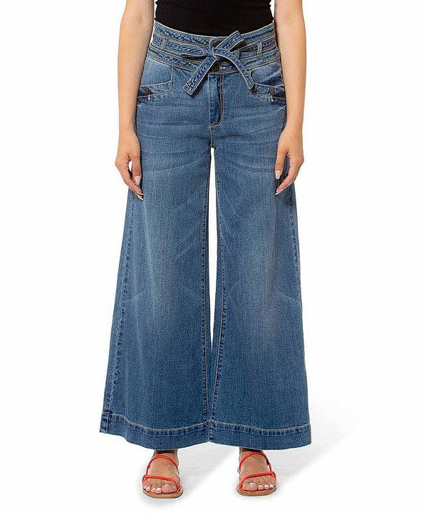 Lola Jeans High Rise Wide Leg Denim