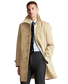 Men's Cotton Gabardine Trench Coat