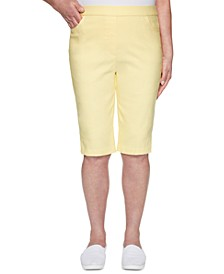 Spring Lake Pull-On Bermuda Shorts