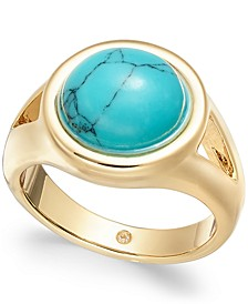 Gold-Tone Stone Statement Ring, Created for Macy's