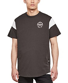 Men's Blocked Sleeve Logo T-Shirt, Created for Macy's