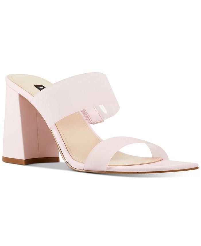 Nine West - Gya Semi-Opaque High-Heel Mule Sandals