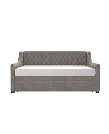 Monarch Hill Ambrosia Upholstered Daybed and Trundle, Twin