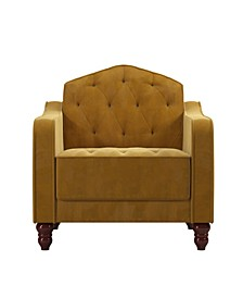 Collection Vintage-Like Tufted Armchair
