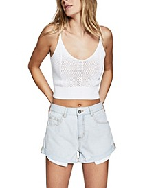 Mid Rise Saturday Denim Short