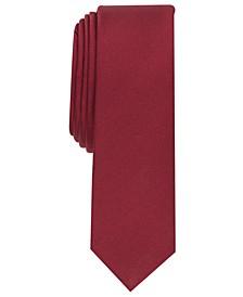 Men's Solid Textured Necktie, Created for Macy's