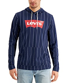 Men's Jersey Hooded Long Sleeve Tee