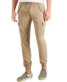 Men's Slim-Fit Cargo Jogger Pants, Created for Macy's