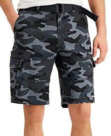 "Men's Franklin Camo Cargo 11"" Shorts, Created for Macy's"