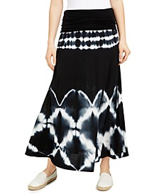 Petite Tie-Dyed Convertible Skirt, Created for Macy's