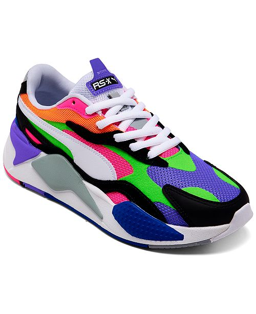 Puma Women's RS-X3 Puzzle Casual Sneakers from Finish ...