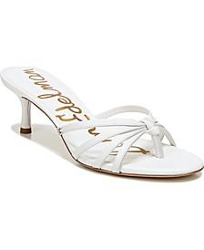 Jedda Mid-Heel Thong Sandals