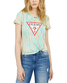 GUESS Eco Tie-Dye Logo T-Shirt