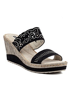 Rhea Wedge Sandal
