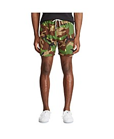 Men's Big & Tall Traveler Camo Swim Trunk