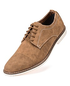 Men's Deevor's Perforated Casual Dress Oxford Shoes
