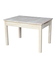Table with Lift Up Top for Storage
