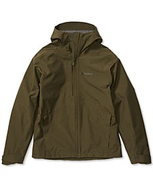 Men's Minimalist Hooded Jacket