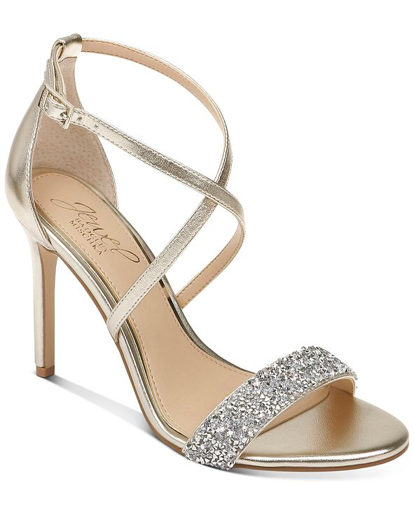 Jewel Badgley Mischka Nanna Evening Sandal