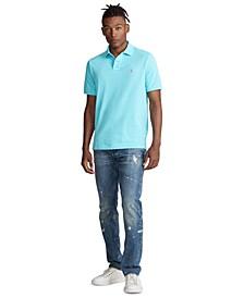 Men's Classic-Fit Mesh Polo Shirt