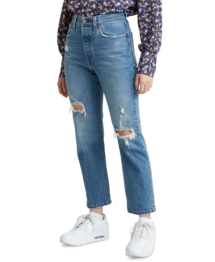 Levi's - 501® Cropped Straight-Leg Jeans