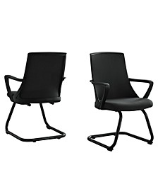 Office Chair - 2 Piece Guest Mesh Mid-Back
