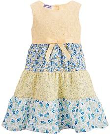 Baby Girls Tiered Cotton Sundress
