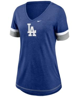 Nike Los Angeles Dodgers Women's Tri-Blend Fan T-Shirt
