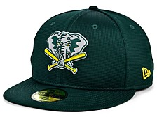 Oakland Athletics 2020 MLB Kids Clubhouse 59FIFTY-FITTED Cap