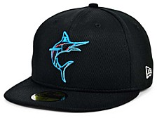 Kids Miami Marlins 2020 Kids Batting Practice 59FIFTY-FITTED Cap