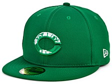 Cincinnati Reds 2020 Men's St. Pattys Day Fitted Cap