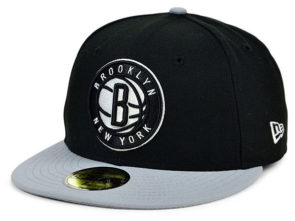 New Era Brooklyn Nets Men's Pennant Patch Fitted Cap