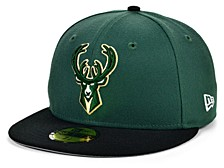 Milwaukee Bucks The Pennant Patch 59FIFTY-FITTED Cap
