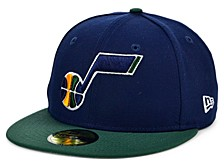 Utah Jazz The Pennant Patch 59FIFTY-FITTED Cap
