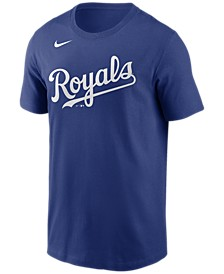 Kansas City Royals  Men's Swoosh Wordmark T-Shirt