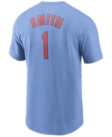 St. Louis Cardinals Men's Coop Ozzie Smith Name and Number Player T-Shirt