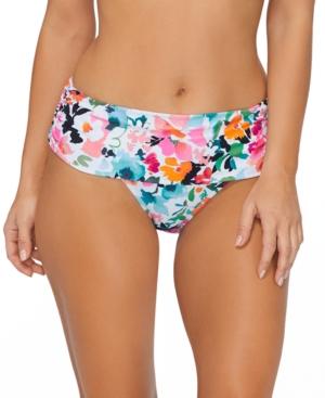 Honey Bloom Printed Bikini Bottoms