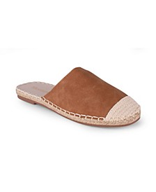 Baroness Women's Backless Espadrille Mule