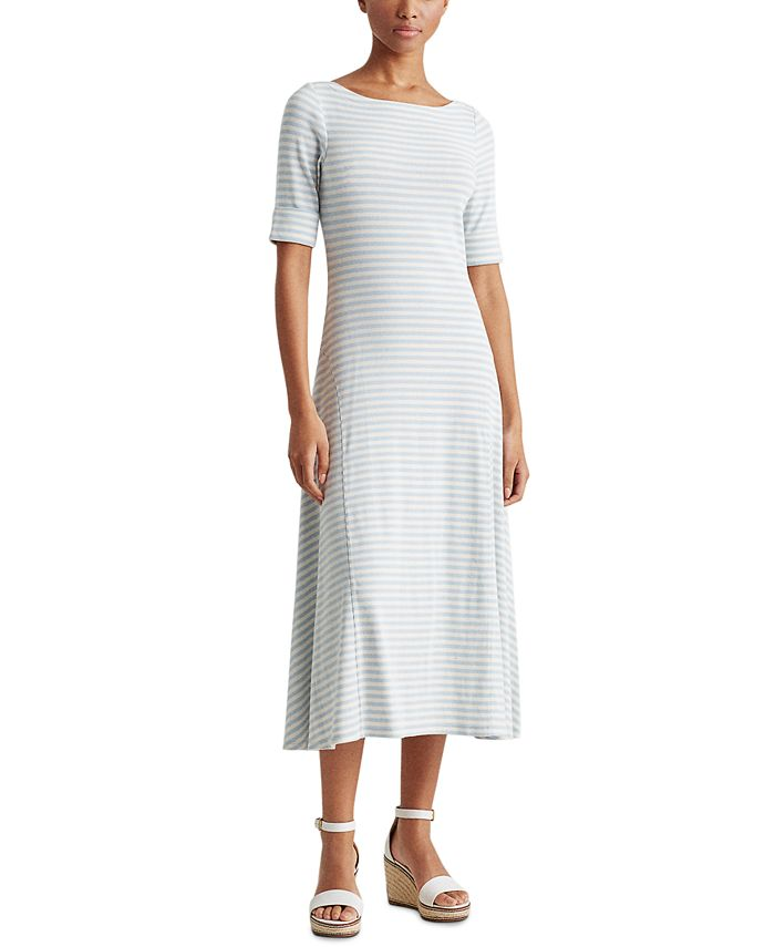 Lauren Ralph Lauren - Fit-And-Flare Maxi Dress