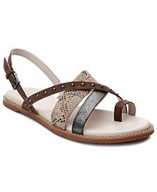 Biz Studded Toe-Post Sandals